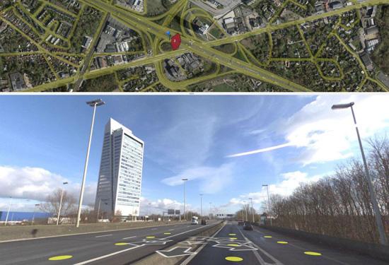 teccon viewer KBC toren Gent