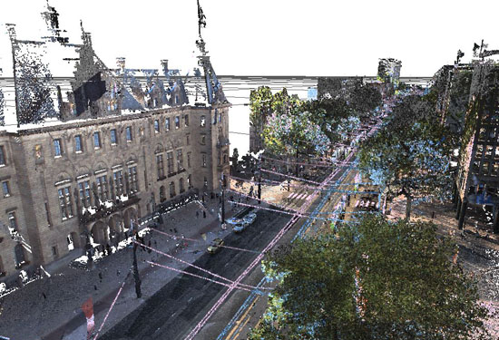 mobile-mapping Coolsingel Rotterdam